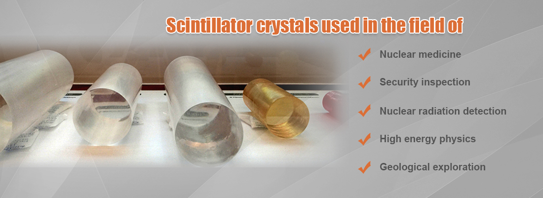 Scintillator Crystals of CsI NaI LYSO GAGG and CWO